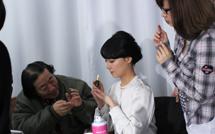 张茜代言广告拍摄花絮