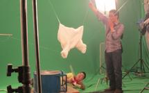 洗衣液广告拍摄花絮